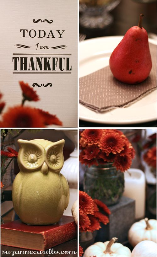 Thanksgiving diy table setting suzanne carillo