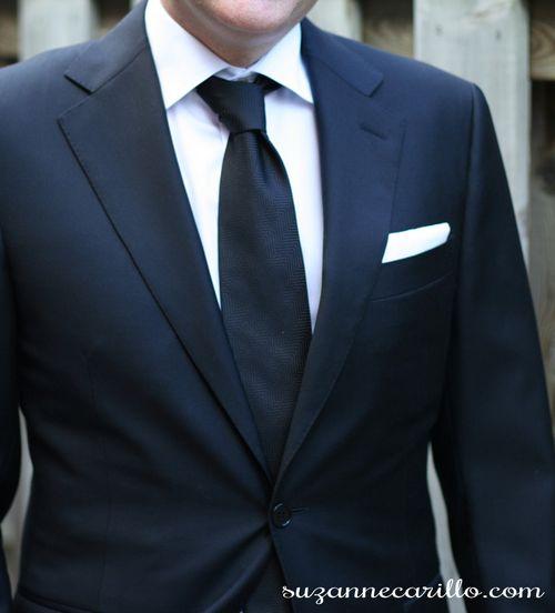 Classic black and white for men suzanne carillo