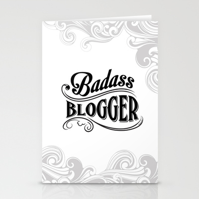 Badass_blogger_greeting_card_suzannecarillo