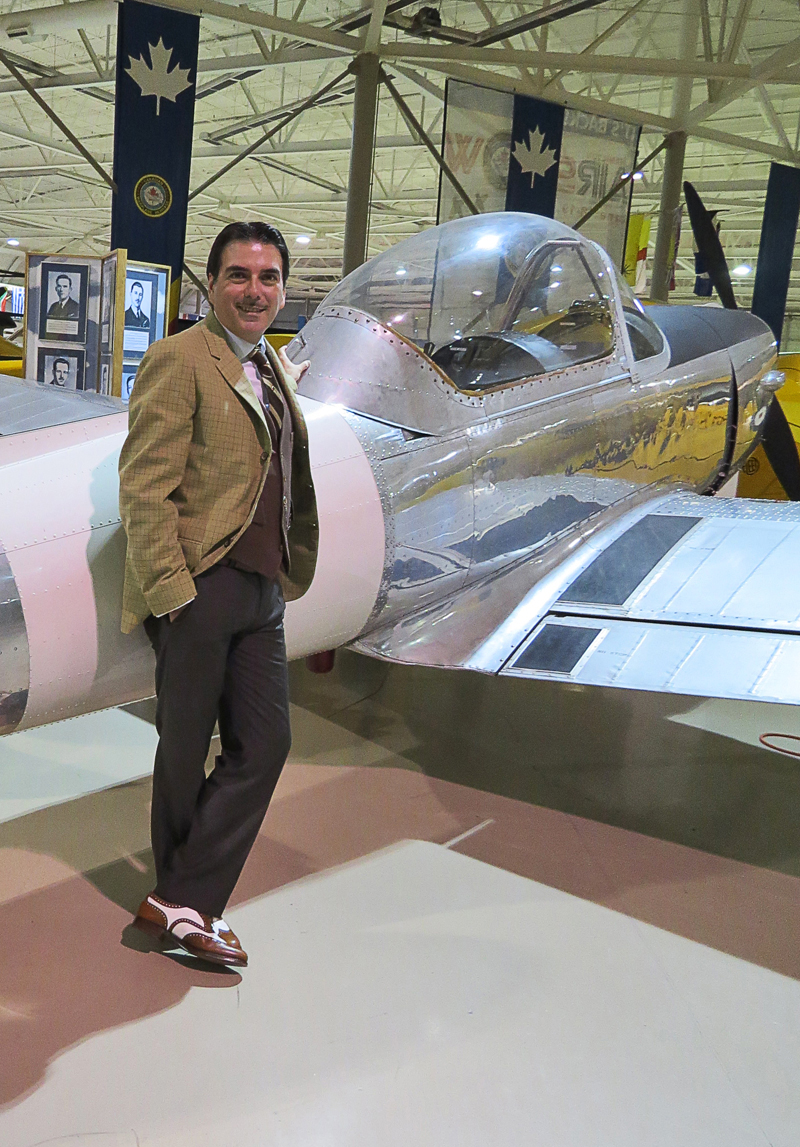 Canadian war plane heritage museum robert carillo 1940's style
